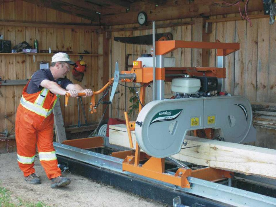 People Often Think The Higher Portable Sawmill