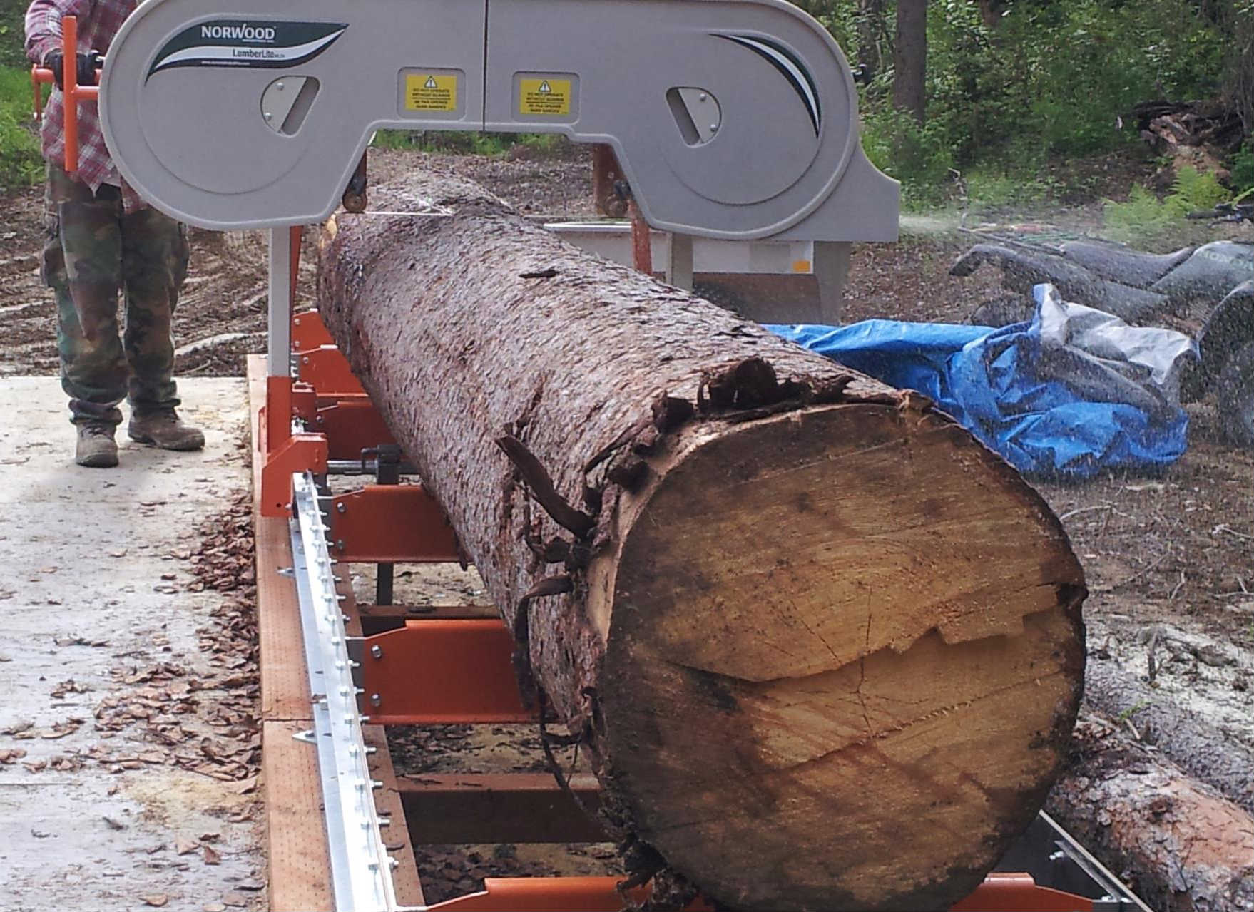 Portable Sawmill Support Equipment - Trees 2 Money