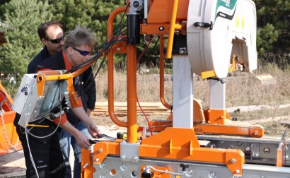 Upgrading Your Portable Band Sawmill Trees 2 Money