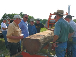 Where To See a Portable Sawmill in Action
