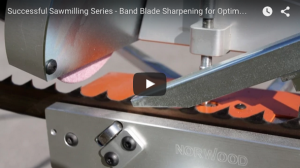 Band Blade Sharpening for Optimum Portable Sawmill Production