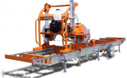 full-sized portable sawmill