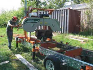 portable sawmill business