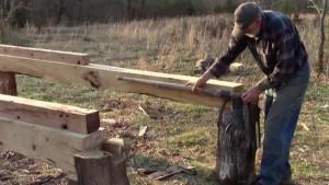 Bandsaw Mill Log Deck